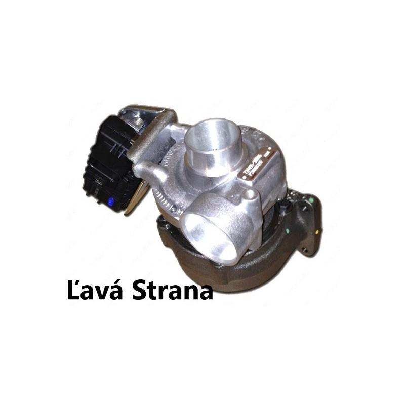 Turbo ( Ľ )- M-Klasse 400 CDI (W163), OM628.963, 184 Kw - 250 PS
