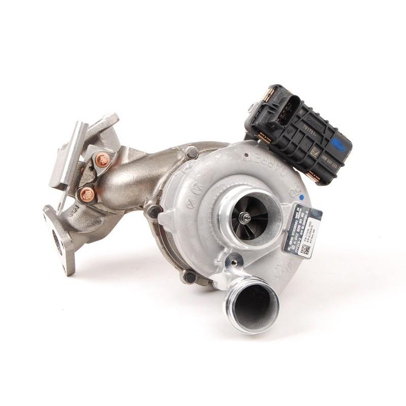 Turbo - M-Klasse 350 CDI (W164), OM 642.820, 155Kw - 211PS