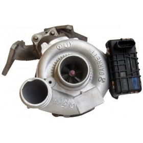 Turbo - M-Klasse 300 CDI (W164), OM 642.940, 140Kw - 190PS